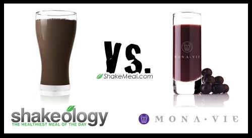 Shakeology vs. MonaVie